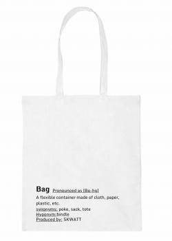 tote bag white