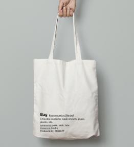 tote bag white lifestyle
