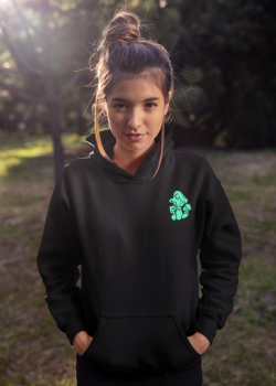 pullover-hoodie-mockup-of-a-young-woman-with-a-cute-messy-bun-hairstyle-23276